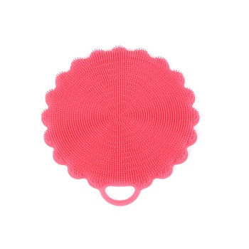 silicone makeup brush cleaner. antibacterial silicone dish scrubber sponge brush for dishwashing, multi-purpose cleaning such as makeup cleaner
