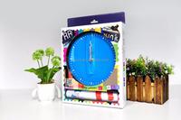 MAX3 diy original conceptual design running man classic black 3D wall sticker clock for home decoration