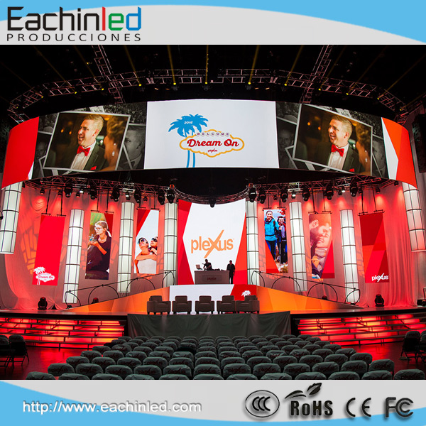 Event services AV chicago led video wall P2.9/P3.9