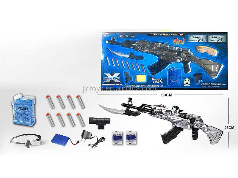 Promotion AK47 electronic water bullet air soft military gun toy, air soft gun toys for wholesale, AF008978