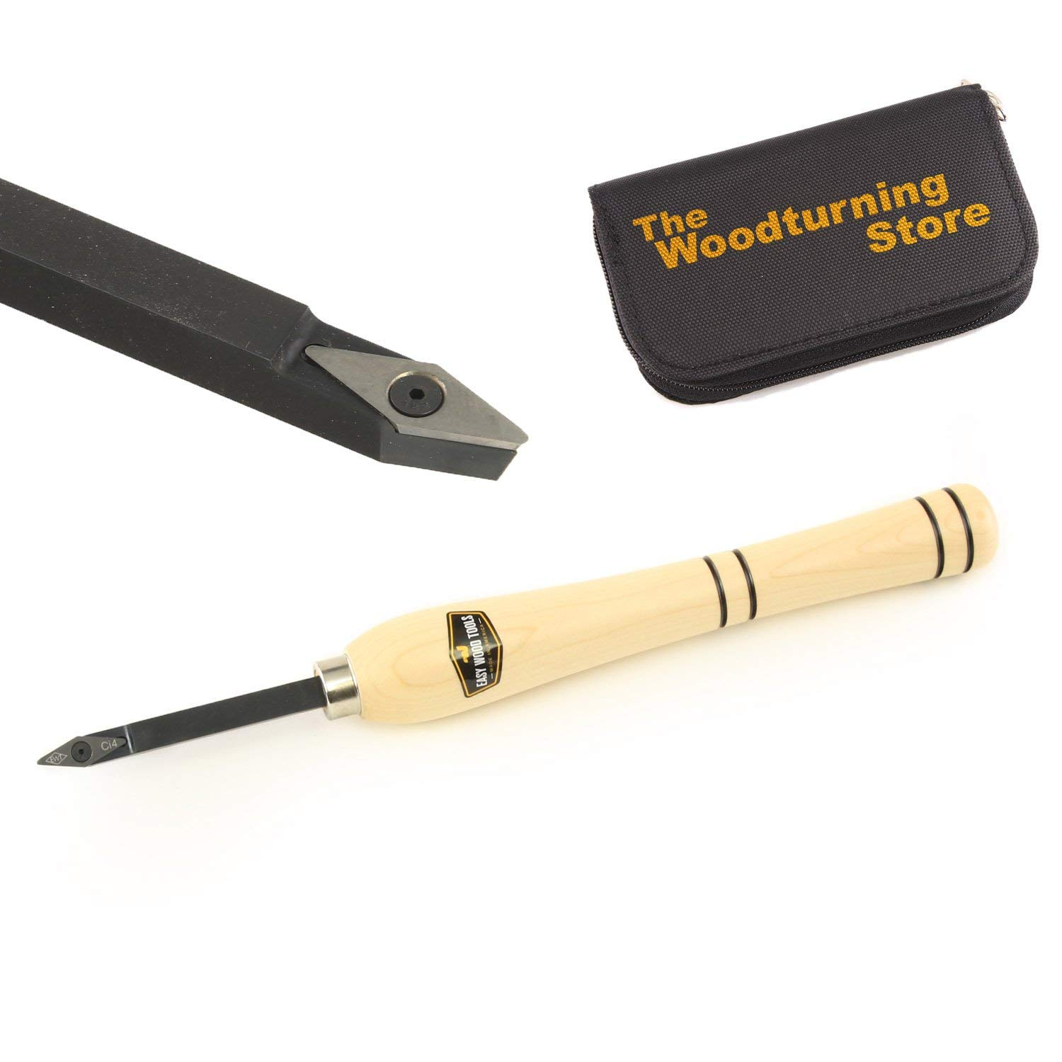 Easy Wood Tools, 9720, Easy Start Detailer with BONUS Woodturning Store Carbide Cutter Holder