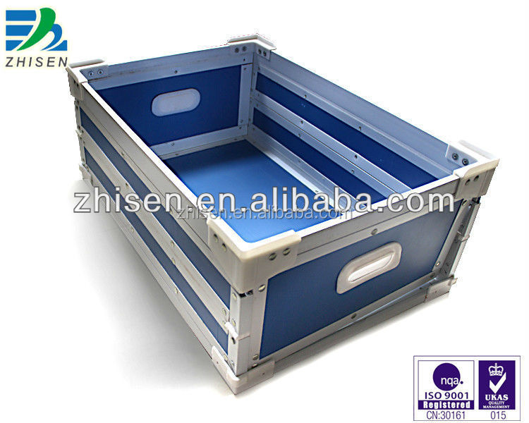 Long lifetime durable corrugated packaging box