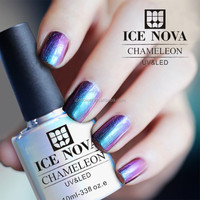 UV/LED 10 colors chameleon greenstyle gel polish