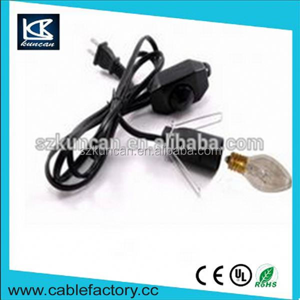Free samples wholesale lamp cord set parallel wires cables for lamp cord