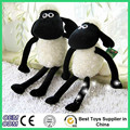 2016 Shaun Sheep stuffed animal plush doll animated cartoon baby toys for child christmas gift free