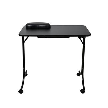 Ultra Luxus Moderne Tragbare Klapp Handy Salon Möbel Schwarz Weiß Nagel  Maniküre Tisch Tisch - Buy Maniküre Tisch,Nagel Maniküre Tisch Tisch,Nagel  ...