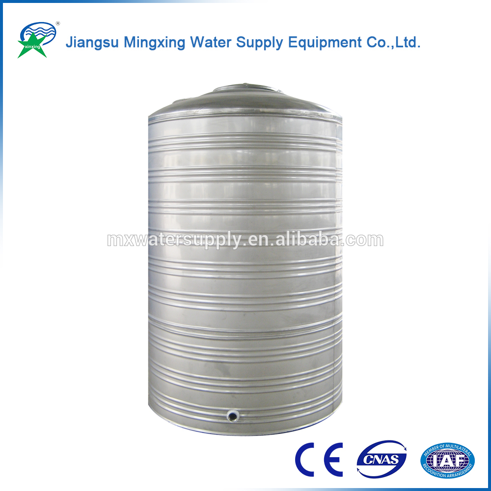 100% Natural bolted steel storage tank dental clean