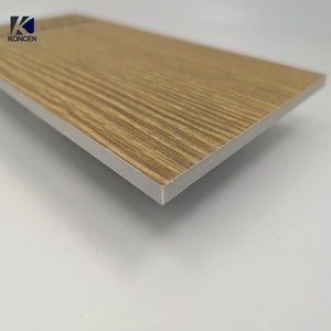 4mm Brush fireproof corrugated Aluminum core /honeycomb /corrugated composite panel/ ACP/ACM/ACCP