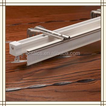 roest gratis staal gebruikt hotel gordijnen aluminium profiel schuiframen truck gordijn rails