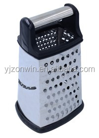 Item D1-061 top grade stainless steel 4-side grater