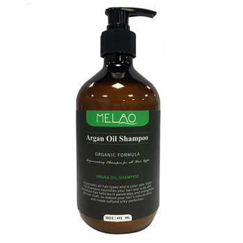 Melao brand wholesale bulk natural argan oil black hair shampoo