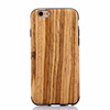 for iphone 6s plus phone case cover soft tpu + wood