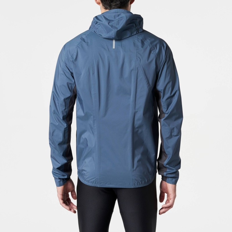 Hot sale Customized logo men's waterproof jacket trail running plus size