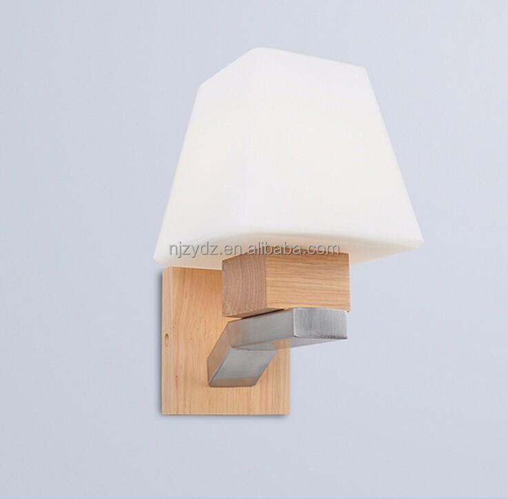 Japans koreaans trap ingang hal muur hout wandlamp slaapkamer nachtkastje lamp kroonluchters en for Hal ingang