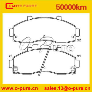 car spare parts kia rio brake pad for KIA PREGIO