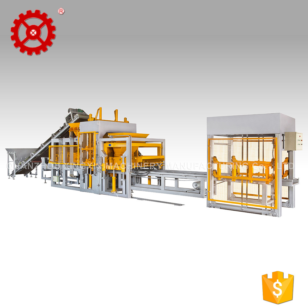 Fly Ash Brick Press Block Making Machine Price List For Concrete