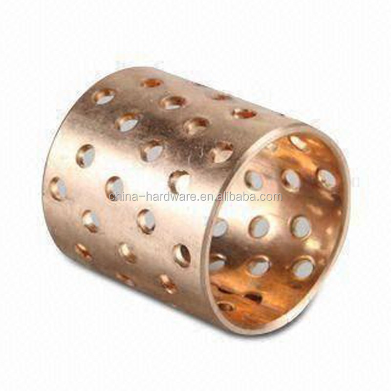 BRONZE BUSH LDD CYLINDRICAL BUSHES WITH LIP SEALS FB092 OIL HOLE SLIDE BERING COPPER BUSH
