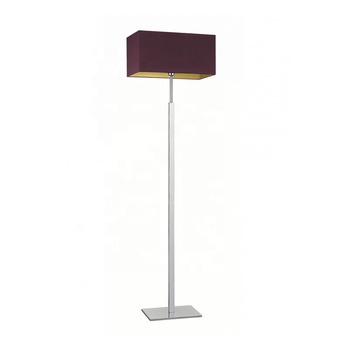European Contemporary Home Decoration Standing Lamp Chrome Finish Floor Lamp For Living Room