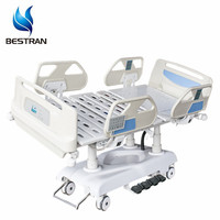 BT-AE031 Manufacturer Price With Scale Suitable For X-Ray Hospital Electric Linak Column Motorized Folding Functional ICU Bed