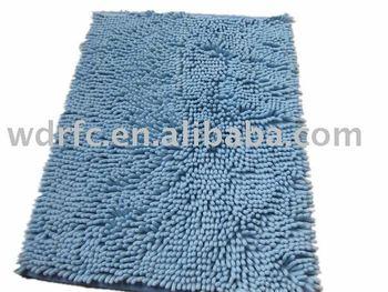 Ciniglia di microfibra tappeto bagno anti scivolo tappeto da