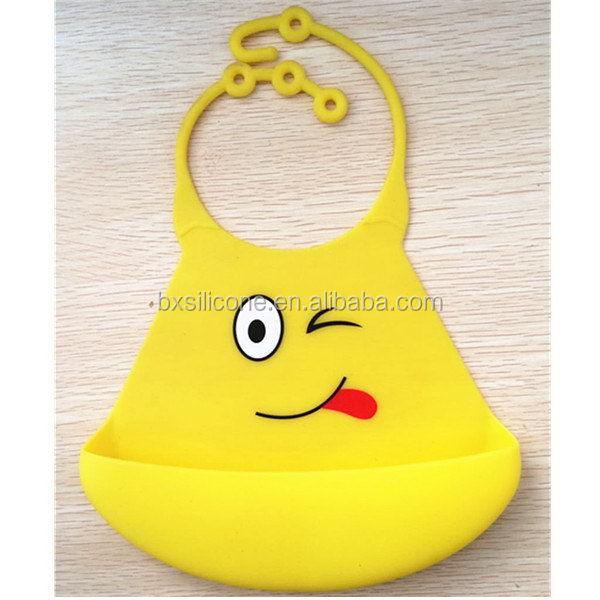 Contemporary new products new arrival silicone baby bibs