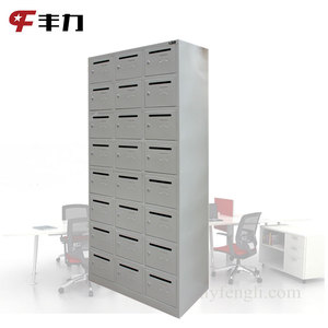 Office Building Used Indoor Decorative Mailbox Cabinet Free Standing Steel Mailbox