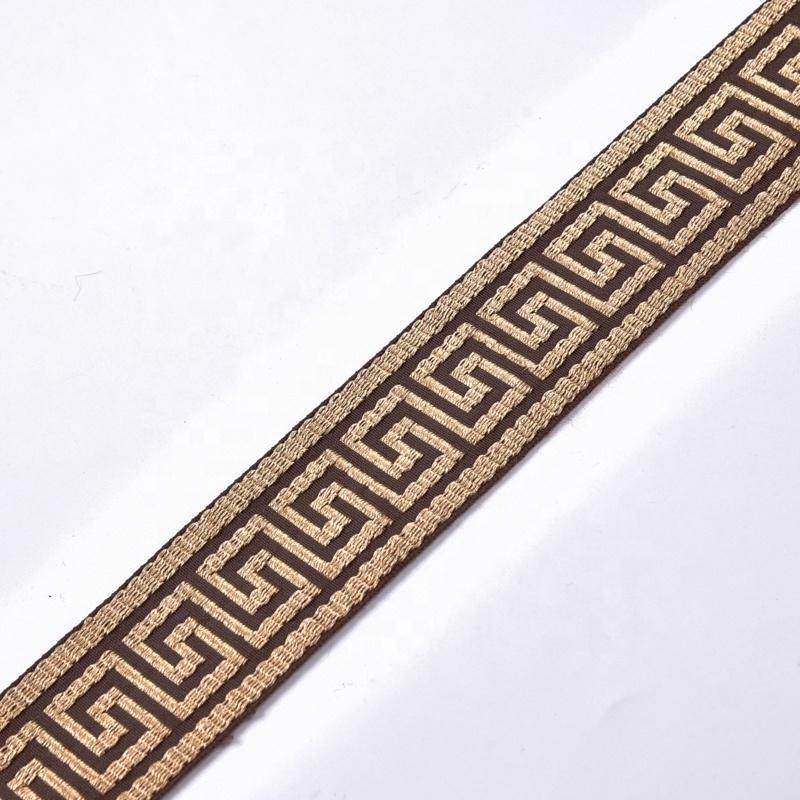 Newest 100%Polyester Jacquard Ribbon