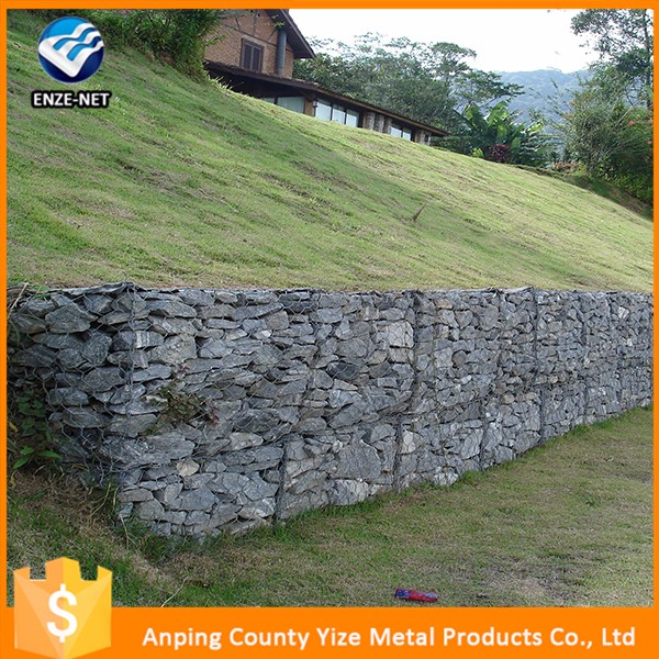 Factory Price Retaining Wall Ideas Welded Gabion Rock Barrier Wire Mesh Hot Box Metal Blocks For