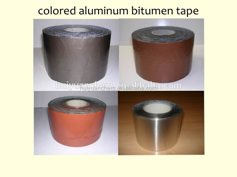 Flashing Tape Aluminium Foil Coated With Bituminous
