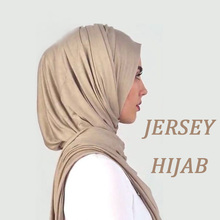 High quality hot arab hijab dubai muslim scarf women hijab solid color jersey hijab scarf