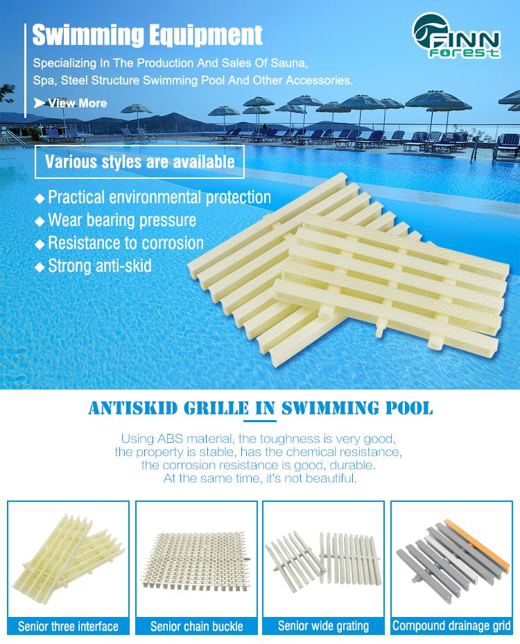 Wholesale PVC Swimming Pool Overflow Grating 245MM