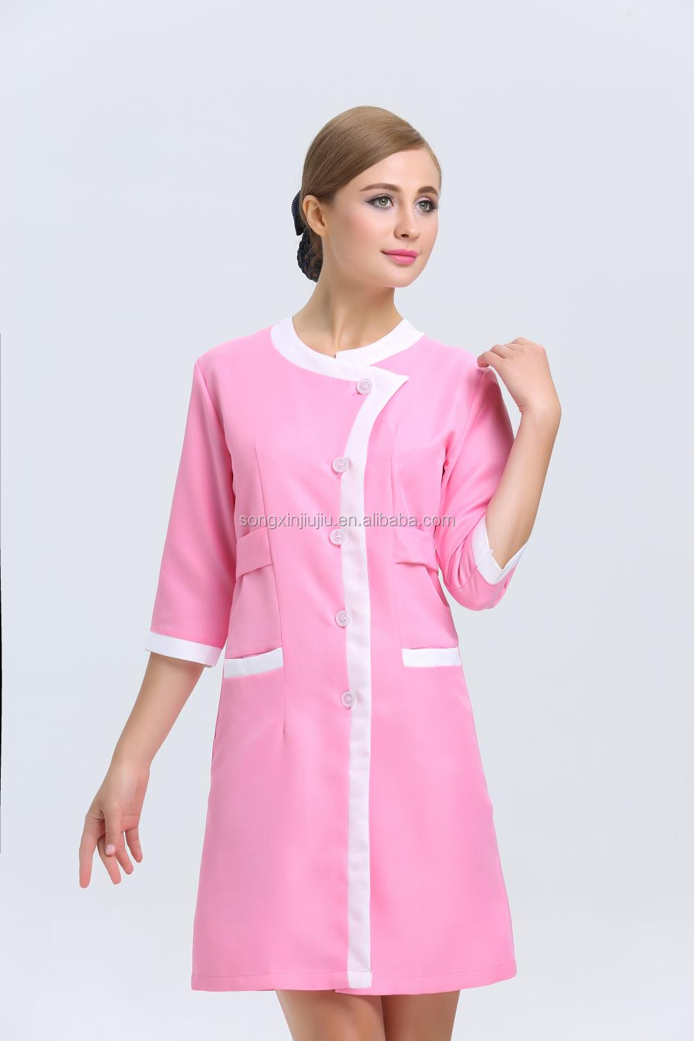 Top selling spa salon uniforms salon wear cheap spa and for Spa uniform alibaba