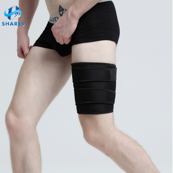 Durable Adjustable Breathable Thigh Compression Thigh Compression Sleeve Therapy Neoprene Thigh Brace Sleeve