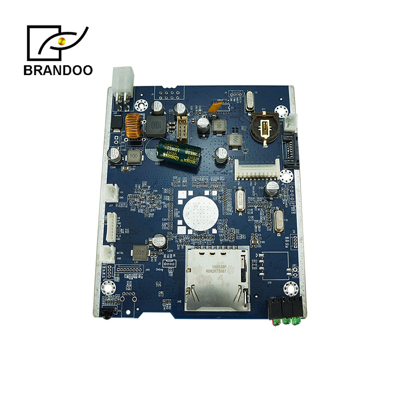 Inexpensive type 4 channel Mobile DVR circuit board