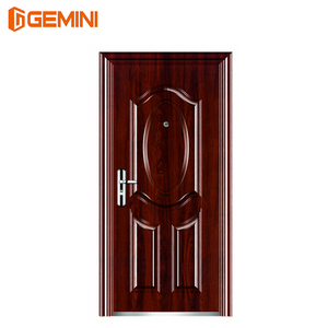 Hot selling design steel doors with camera and video viewer