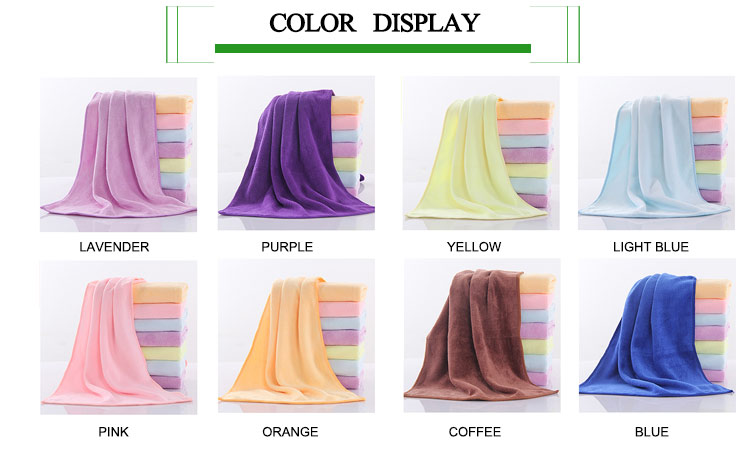 Good price high quality soft microfiber face towel