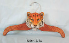 2014 Tiger head decorative with hanging wall hooks for home decoration