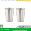 Premium Stainless Steel Cups 16oz Pint Cup Tumbler,Perfect Iced Water & Tea Tumbler/Wine & Beer Mug