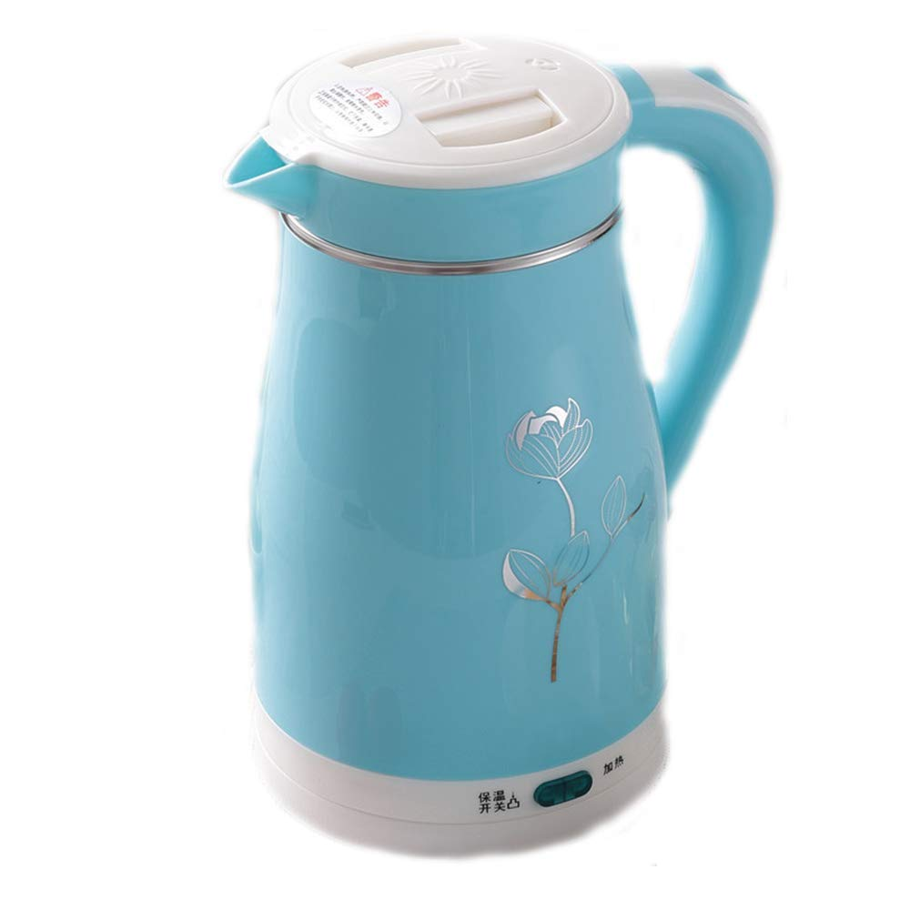 Electric Kettle Home Stainless Steel 1.5L Insulation Chassis Quickly Add Hot Water Bottle (Color : A)