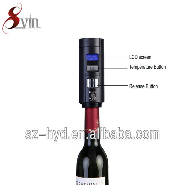 New arrival LCD Show Bar electric vacuum wine automatic air pump