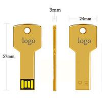 Portable Metal USB With Customized Logo Cheap USB Key
