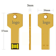 Portable Metal USB With Customized Logo Cheap USB Key