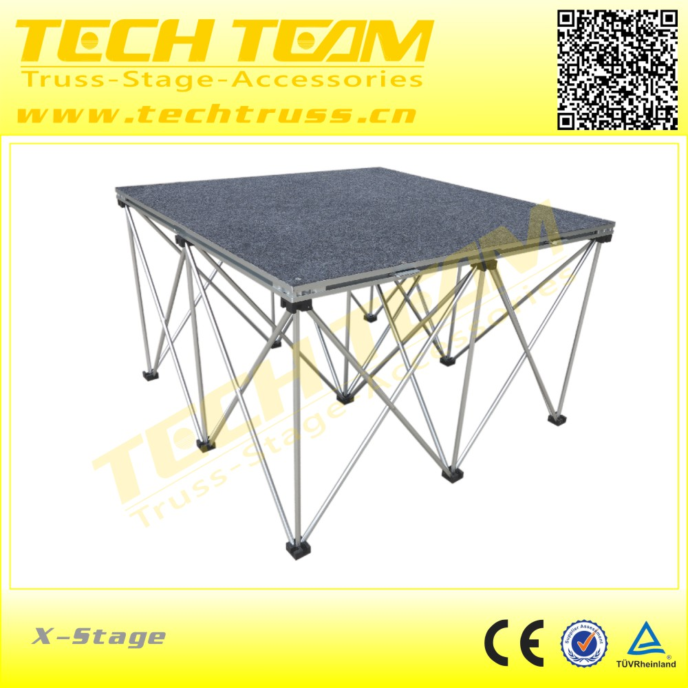 catwalk aluminum stage high-quality movable stage