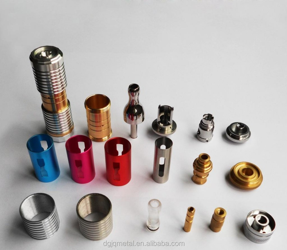 CNC turning precision metal smoking pipes electronic cigarette accessories/brass electric cigarette turning parts