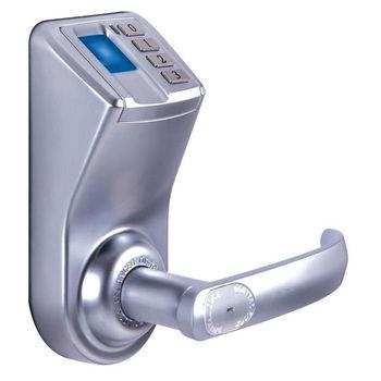 biometric fingerprint door lock keyless diy install manual pwkey door handle lock fingerprint