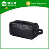 Zhejiang Manufacturer Mens Ladies PU Leather Zipped Travel Toiletry Bag