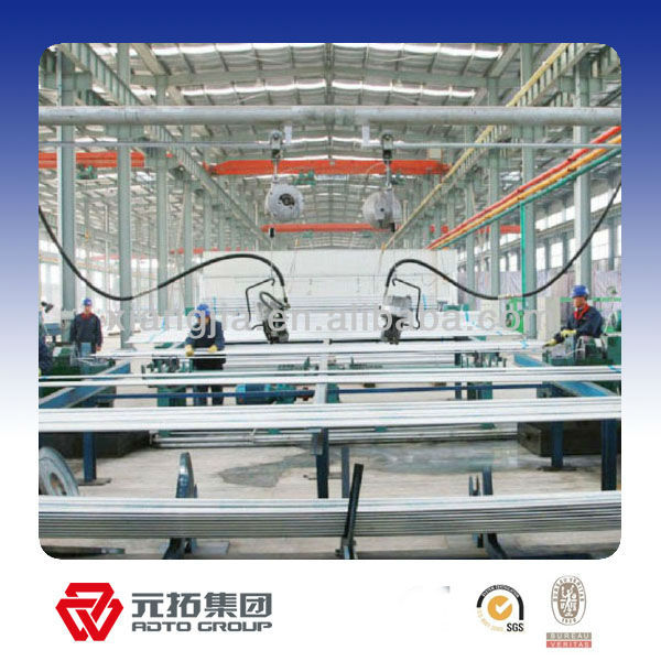 Q235 galvanized Ringlock System Scaffolding used Construction building Steel Scaffoldings