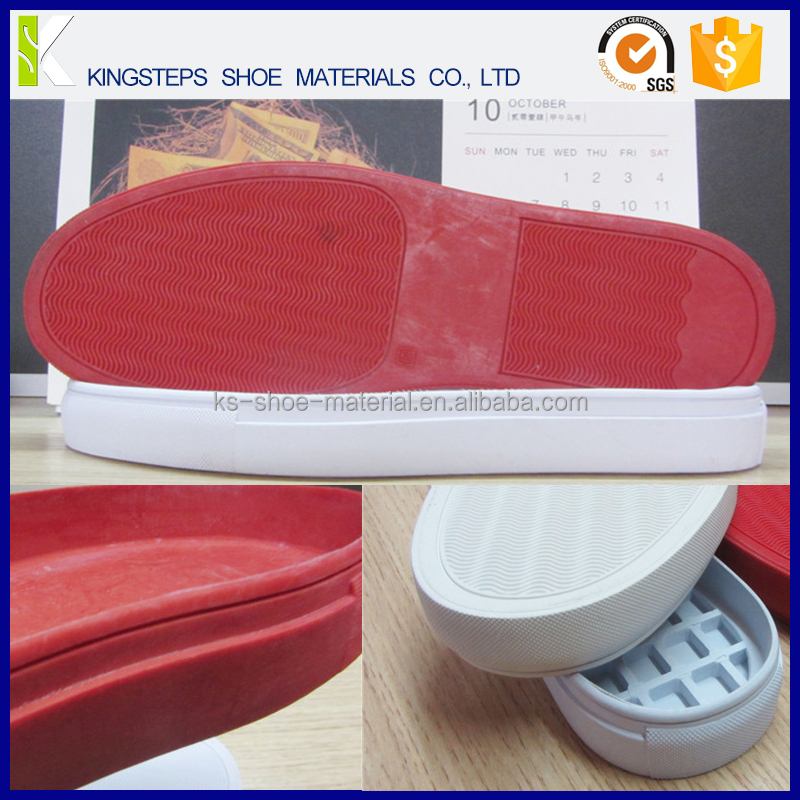 Soft wear-resisting rubber sole recreational shoe sole female shoes Male sole KSF 9200