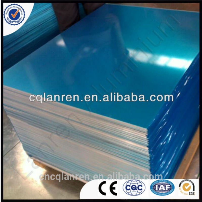 Mill Finish Aluminium alloy 5052 5083 6061 sheet plate 6mm thick