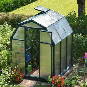 polycarbonate sheet outdoor green houses/garden greenhouse